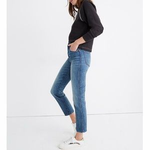 MADEWELL Rigid Stovepipe Jeans.